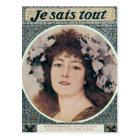 Sarah Bernhardt  in Gismonda Postcard