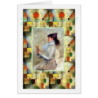 Sarah Bernhardt-You're So Divine ! Card