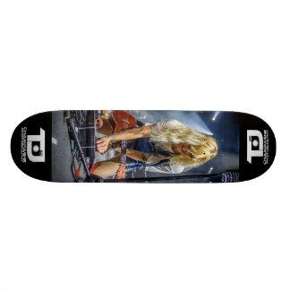 """Sarah Blackwood - """"Push The Pedal"""" Skateboard"""