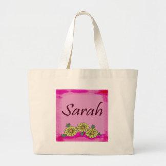 Sarah Daisy Canvas Bags