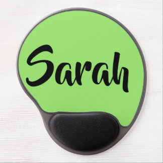 sarah from the TV show Orphan Black,bold script Gel Mouse Pad