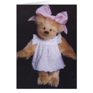 Sarah Jane the Teddy Bear Card