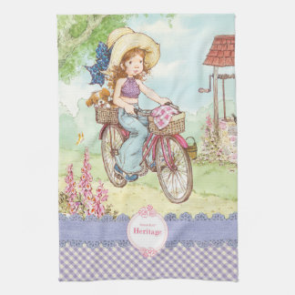 "Sarah Kay ""Bike Ride"" Kitchen Towel"