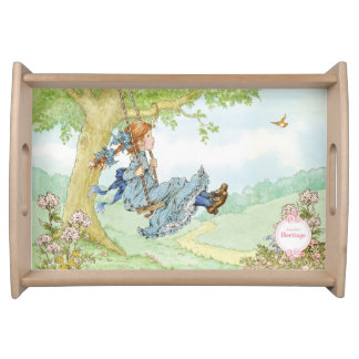 "Sarah Kay Heritage ""Swing"" Serving tray"