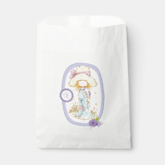 """Sarah Kay """"petite Fleur"""" Party Favour Bags Lilac"""