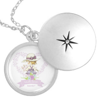 """Sarah Kay With Love """"Camille"""" Silver Locket Neckla"""