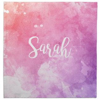 Sarah Name Napkin