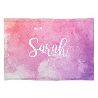 Sarah Name Place Mat