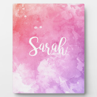 Sarah Name Plaque