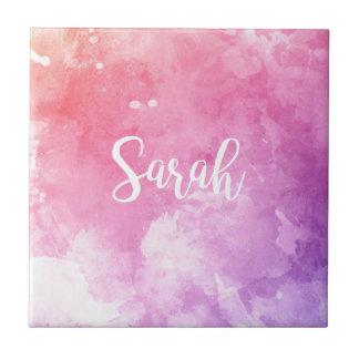 Sarah Name Tile