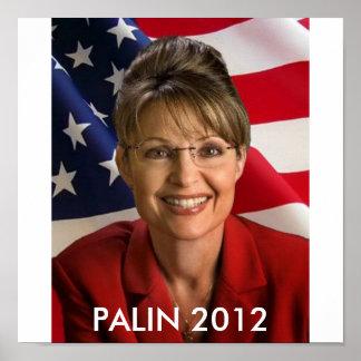 SARAH PALIN 2012 PRESIDENT POSTER