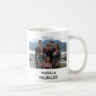 sarah palin & family, sarah palin & fam... coffee mug