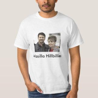 sarah palin & husband, Wasilla Hillbillies T Shirts