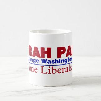 Sarah Palin Basic White Mug