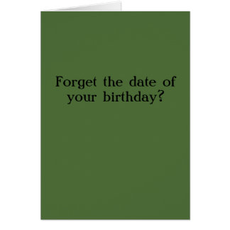 Sarah Palin Belated Birthday Card
