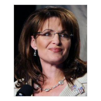 Sarah Palin Chambliss Rally Colosall Size Poster