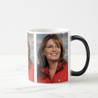 Sarah Palin Cover Girl Going Rogue Magic Mug