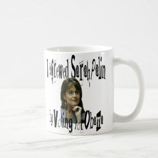 Sarah Palin Cup or Coffee Mug