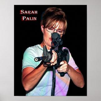 Sarah Palin - Defending America Print