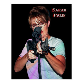 Sarah Palin - Defending America Posters