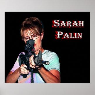 Sarah Palin - Defending America Poster