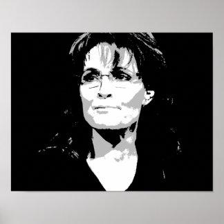 Sarah Palin Face Poster