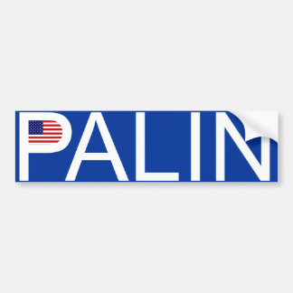 Sarah Palin - Flag Bumper Sticker