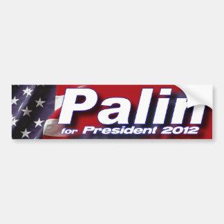 Sarah Palin for President 2012 Bumper Sticker