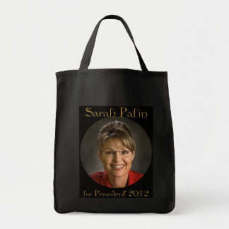 Sarah Palin for President 2012 Tote Bag