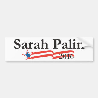 Sarah Palin for President 2016 Bumper Stickers
