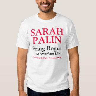 Sarah Palin - Going Rogue - Grand Rapids, Michigan T-shirts