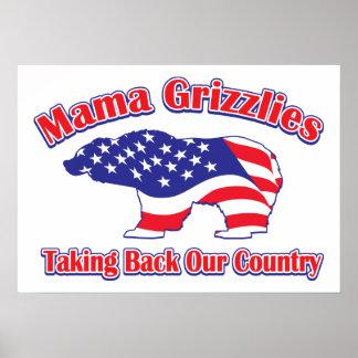 Sarah Palin Mama Grizzlies Print