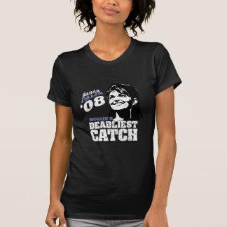 Sarah Palin Mccains Dealiest Catch Tshirts