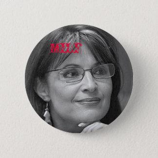 Sarah Palin MILF 6 Cm Round Badge