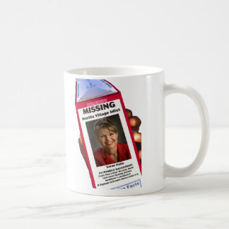 Sarah Palin - Missing Coffee Mug