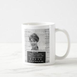 Sarah Palin Mugshot Coffee Mug