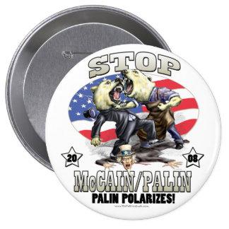 Sarah Palin Polarizes Gear 10 Cm Round Badge