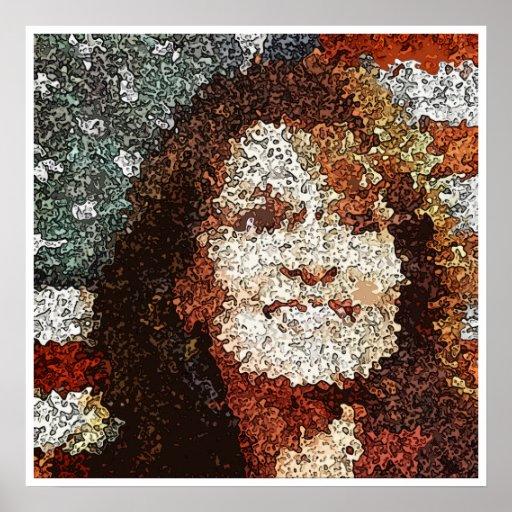 Sarah Palin Pop Art Poster