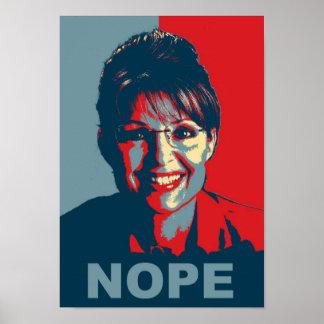 Sarah Palin poster copy
