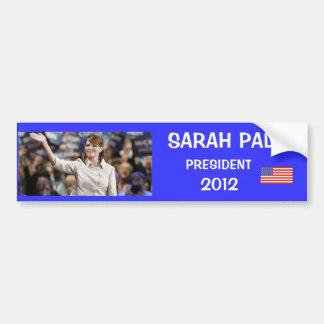 SARAH PALIN, PRESIDENT, 2012 BUMPER STICKER