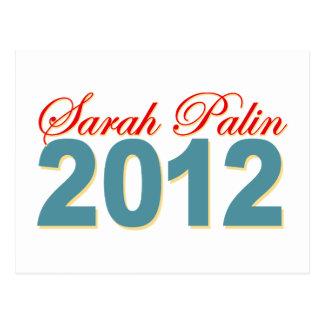 Sarah Palin President 2012 Postcard