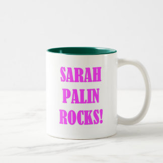Sarah Palin Rocks Tees Coffee Mug