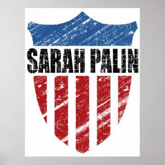Sarah Palin Shield Posters