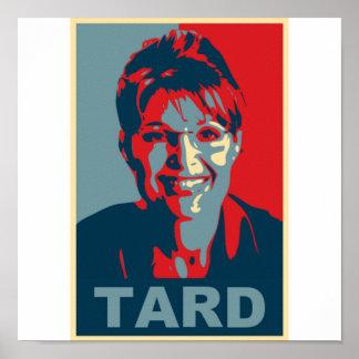 Sarah Palin Tard Poster