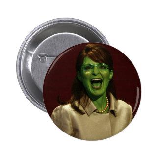 Sarah Palin the Witch 6 Cm Round Badge