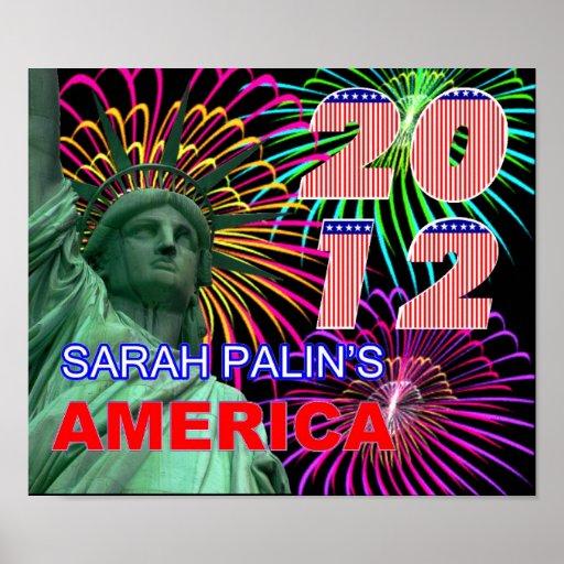 Sarah Palin's America Poster