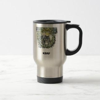 Sarah Snow nose, KSRF Travel Mug