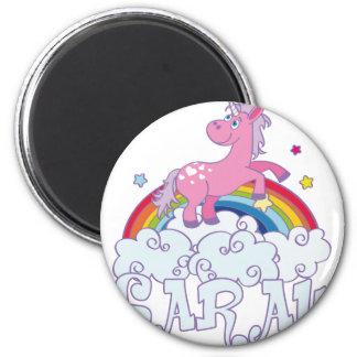 Sarah unicorn name magnet