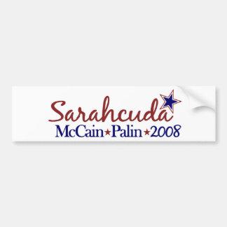 Sarahcuda (McCain Palin 2008) Bumper Sticker