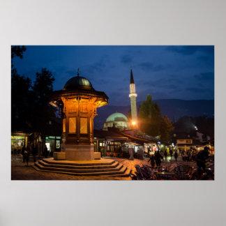 Sarajevo Bosna i Hercegovina Poster